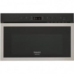 HOTPOINT MH 600 IX Micro-ondes combiné encastrable inox