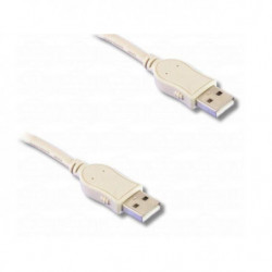 Cable USB 2.0 Hi-Speed, type à mâle / type à mâle, 1m80