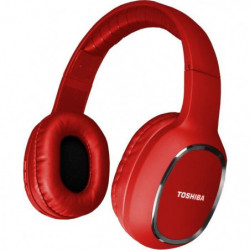 TOSHIBA RZE-BT160H Casque arceau Sport - Bluetooth - Rouge
