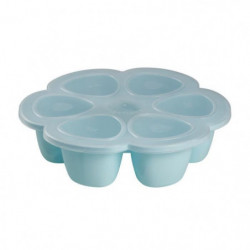 BEABA Multiportions silicone 6x150 ml blue