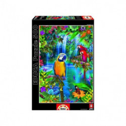 EDUCA - Puzzle Paradis Tropical 500 pcs