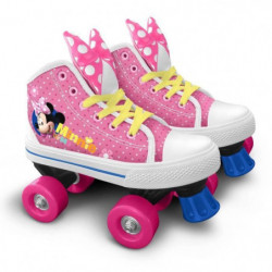 DISNEY MINNIE Patins à roulettes Quad - Taille 28