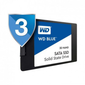 WD Disque Blue SSD - 3D Nand - Format 2.5/7mm