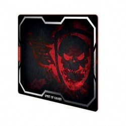 SPIRIT OF GAMER Tapis de souris Gamer Smokey Skull - Rouge
