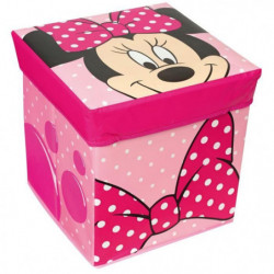 Fun House Disney Minnie tabouret rangement ardoise