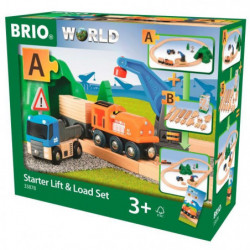 BRIO World  - 33878 - Circuit De Demarrage Transport De Fret