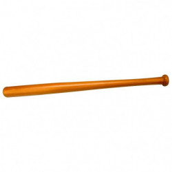 ABBEY Batte de baseball - 63 cm - Marron