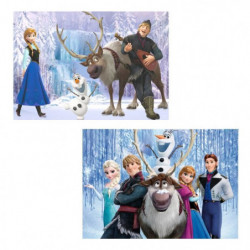 EDUCA - Puzzle La Reine des Neiges 2 x 100 pcs