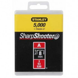 STANLEY Agrafes 8mm type A 1000 pieces