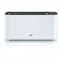 BRAUN HT3100WH Grille-pain - 1 Fente - 1000W