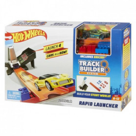 HOT WHEELS - Double lanceur compatible Track Builder