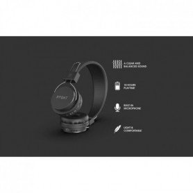 RYGHT R481535-N LUMINA 2 Casque Bluetooth - 3.7 V - Autonomie 10h