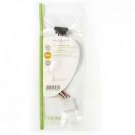 NEDIS Internal Power Cable - Molex Male - SATA 7-pin