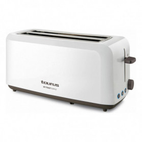 Grille-pain Taurus My Toast Duplo 1450W Blanc