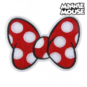 Patch Minnie Mouse Rouge Polyester