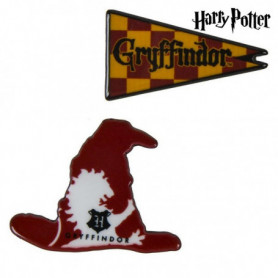 Broche Gryffindor Harry Potter Rouge