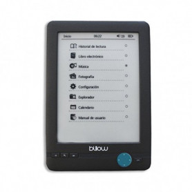 "eBook Billow MRELEE0101 E03T 6"" E-Ink 4 GB Noir"
