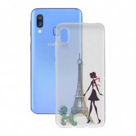 Protection pour Samsung Galaxy A40 Contact Flex France TPU