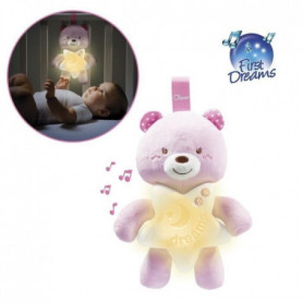 CHICCO Veilleuse Petit Ourson Rose