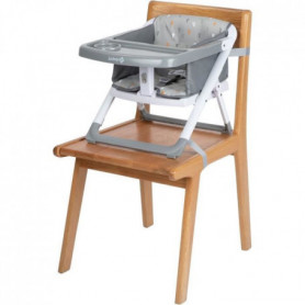 SAFETY FIRST Rehausseur De Chaise Pliable Take Eat Warm Gray