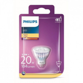 PHILIPS Spot LED - GU4 - 2,6-20 W - Blanc chaud