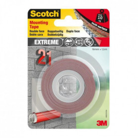 3M Ruban adhésif double face performance extreme - 1,5mx19mm