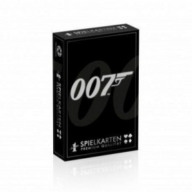 Jeu de 54 cartes James Bond
