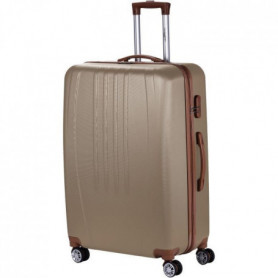 MANOUKIAN Valise Chariot ABS  4 Roues 72 cm Champagne