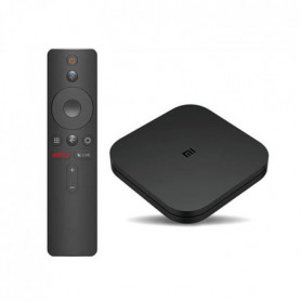 XIAOMI/MI TV BOX S - Android 8.1 TV 4K HDR - Acces direct Netflix