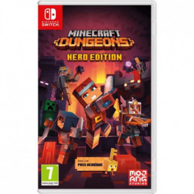 Minecraft Dungeons - Hero Edition (Pass Héroique inclus) Jeu Switch