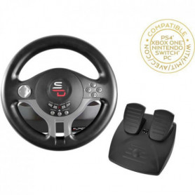 Volant Driving Wheel - SUBSONIC - Compatible Switch. PS4. Xbox One. PC