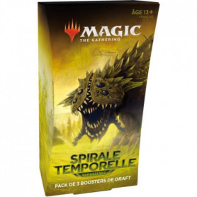 Magic: The Gathering- Spirale Temporelle Remastered - Pack de 3 boosters de Draf