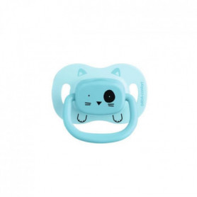 BEBE CONFORT 2 Sucettes Reversible Soothers Silicone 6/18 -  Bleu - Minimalist A