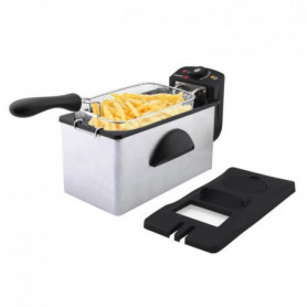 FAGOR FG869 - Friteuse 3L - 2000 W - Cuve amovible - Corps Inox - Couvercle anti