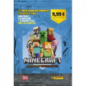 MINECRAFT TRADING CARDS - PACK POUR DÉMARRER TA COLLECTION