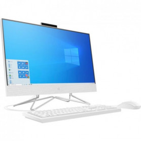 HP PC All-in-One 22-df0017nf - 22HD - Pentium J5040 - RAM 4Go - Stockage 256Go -