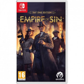 Empire Of Sin - Day One Edition Jeu Switch