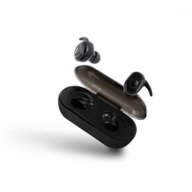 METRONIC Ecouteurs Mooov intra auriculaire Bluetooth TWS - Noir