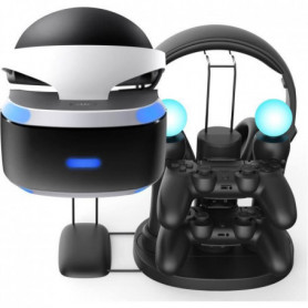 Station de recharge All in One pour PS VR + 2 manettes + 2 PS moves + 1 casque g