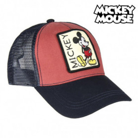 Casquette Baseball Mickey Mouse 75335 Rouge (58 Cm)