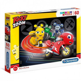 Clementoni - 27006 - SuperColor 60 pieces - Ricky Zoom