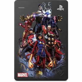 SEAGATE - Disque Dur Externe Gaming PS4 - Marvel Avengers Captain America - 2To