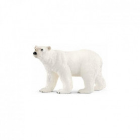 SCHLEICH Figurine 14800 - Animal sauvage - Ours polaire