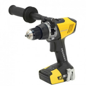 ENERGYDRILL-18VPBL2 Perceuse a percussion BRUSHLESS 18V 2.0 et 5.0Ah PEUGEOT OUT