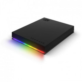 SEAGATE Disque dur 2 To FireCuda Gaming HDD + customizable RGB - Compatible Raze